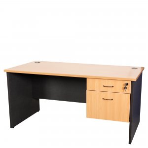Logan DKS126 Student Desk with Drawers