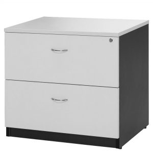 Logan LF7856 Lateral File White Ironstone